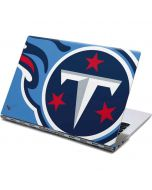 Tennessee Titans Large Logo Yoga 910 2-in-1 14in Touch-Screen Skin
