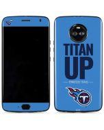 Tennessee Titans Team Motto Moto X4 Skin