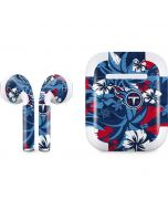 Tennessee Titans Tropical Print Apple AirPods 2 Skin