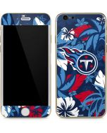 Tennessee Titans Tropical Print iPhone 6/6s Skin