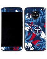 Tennessee Titans Tropical Print Moto X4 Skin