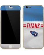 Tennessee Titans White Striped iPhone 6/6s Skin