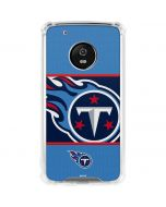 Tennessee Titans Zone Block Moto G5 Plus Clear Case