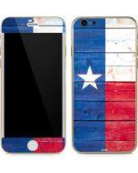 Texas Flag Light Wood iPhone 6/6s Skin