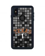 Texas Longhorns Checkered iPhone XS Waterproof Case