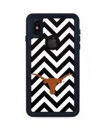 Texas Longhorns Chevron Black iPhone X Waterproof Case