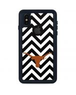 Texas Longhorns Chevron Black iPhone XS Waterproof Case