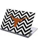 Texas Longhorns Chevron Black Yoga 910 2-in-1 14in Touch-Screen Skin