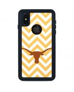 Texas Longhorns Chevron iPhone XS Waterproof Case