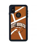 Texas Longhorns Get Hooked iPhone XS Waterproof Case