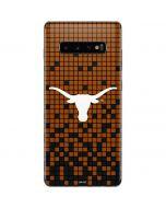 Texas Longhorns Orange Checkered Galaxy S10 Plus Skin