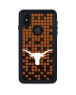 Texas Longhorns Orange Checkered iPhone X Waterproof Case