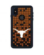 Texas Longhorns Orange Checkered iPhone XS Waterproof Case