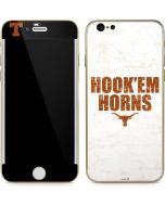 Texas Longhorns White Hook Em iPhone 6/6s Skin
