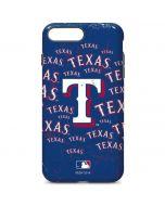 Texas Rangers - Cap Logo Blast iPhone 7 Plus Pro Case