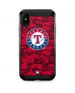 Texas Rangers Digi Camo iPhone XS Max Cargo Case