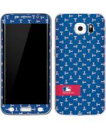 Texas Rangers Full Count Galaxy S6 Edge Skin