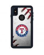 Texas Rangers Game Ball iPhone XS Waterproof Case