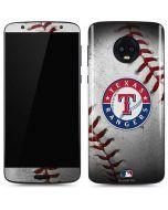 Texas Rangers Game Ball Moto G6 Skin