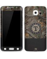 Texas Rangers Realtree Xtra Camo Galaxy S6 Edge Skin