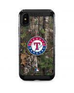 Texas Rangers Realtree Xtra Green Camo iPhone XS Max Cargo Case