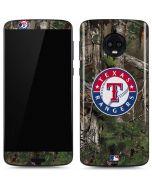 Texas Rangers Realtree Xtra Green Camo Moto G6 Skin