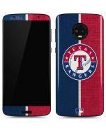 Texas Rangers Split Moto G6 Skin
