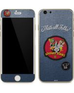 Thats All Folks Patch iPhone 6/6s Skin