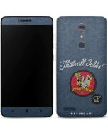 Thats All Folks Patch ZTE ZMAX Pro Skin