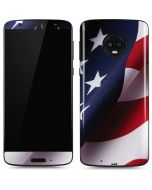 The American Flag Moto G6 Skin