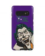 The Classic Joker Galaxy S10 Plus Pro Case