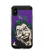 The Classic Joker iPhone XS Max Cargo Case