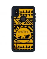 The Lion King Tribal Print iPhone X Waterproof Case