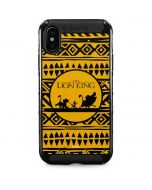 The Lion King Tribal Print iPhone XS Max Cargo Case