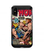 Thor vs Hercules iPhone XS Max Cargo Case