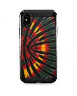 Tie Dye - Rasta iPhone XS Max Cargo Case