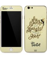 Tinker Bell Leave A Little Sparkle iPhone 6/6s Skin