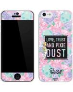 Tinker Bell Love Trust and Pixie Dust iPhone 5c Skin