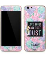 Tinker Bell Love Trust and Pixie Dust iPhone 6/6s Skin