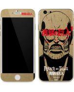 Titan Splatter iPhone 6/6s Skin