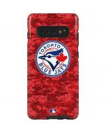 Toronto Blue Jays Digi Camo Galaxy S10 Plus Pro Case