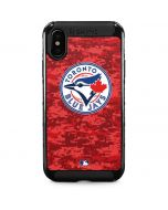 Toronto Blue Jays Digi Camo iPhone XS Max Cargo Case