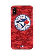 Toronto Blue Jays Digi Camo iPhone XS Max Lite Case