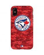 Toronto Blue Jays Digi Camo iPhone XS Pro Case