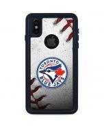 Toronto Blue Jays Game Ball iPhone XS Waterproof Case