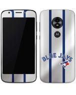 Toronto Blue Jays Home Jersey Moto E5 Play Skin