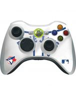 Toronto Blue Jays Home Jersey Xbox 360 Wireless Controller Skin