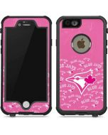 Toronto Blue Jays Pink Cap Logo Blast iPhone 6/6s Waterproof Case