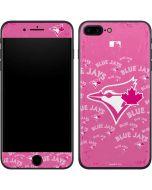 Toronto Blue Jays Pink Cap Logo Blast iPhone 7 Plus Skin