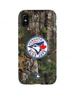 Toronto Blue Jays Realtree Xtra Green Camo iPhone XS Pro Case